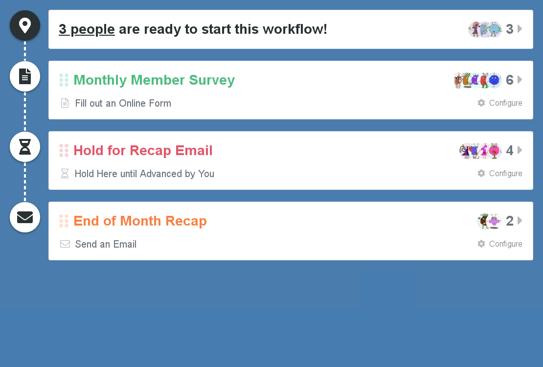 Example: Monthly Member Reports